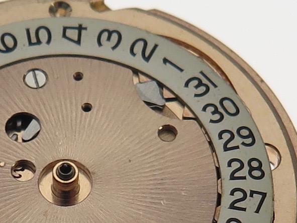 Calendar disc pawl