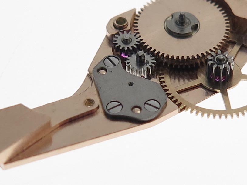 Steel rotor axe plate