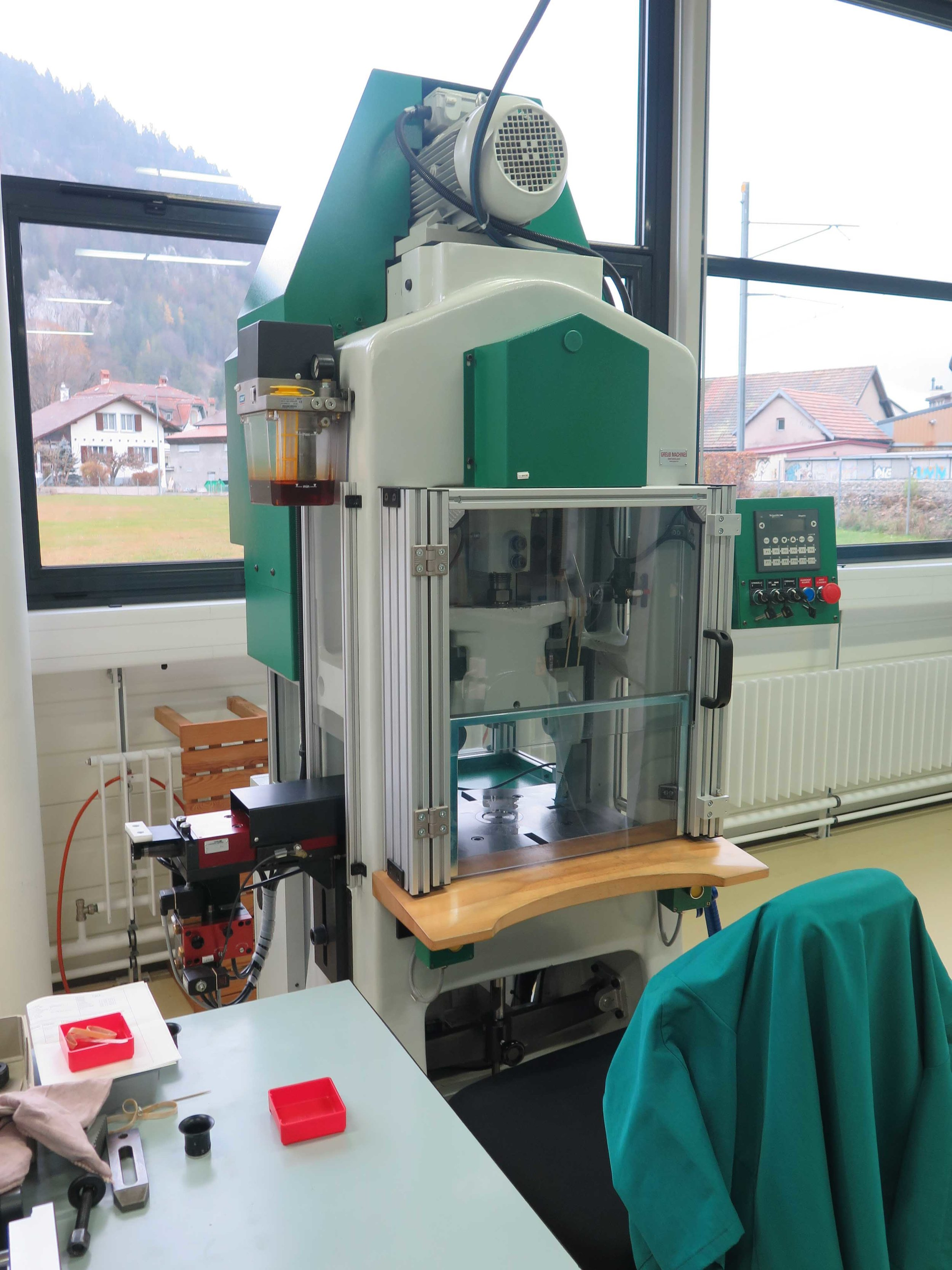 A second stamping machine
