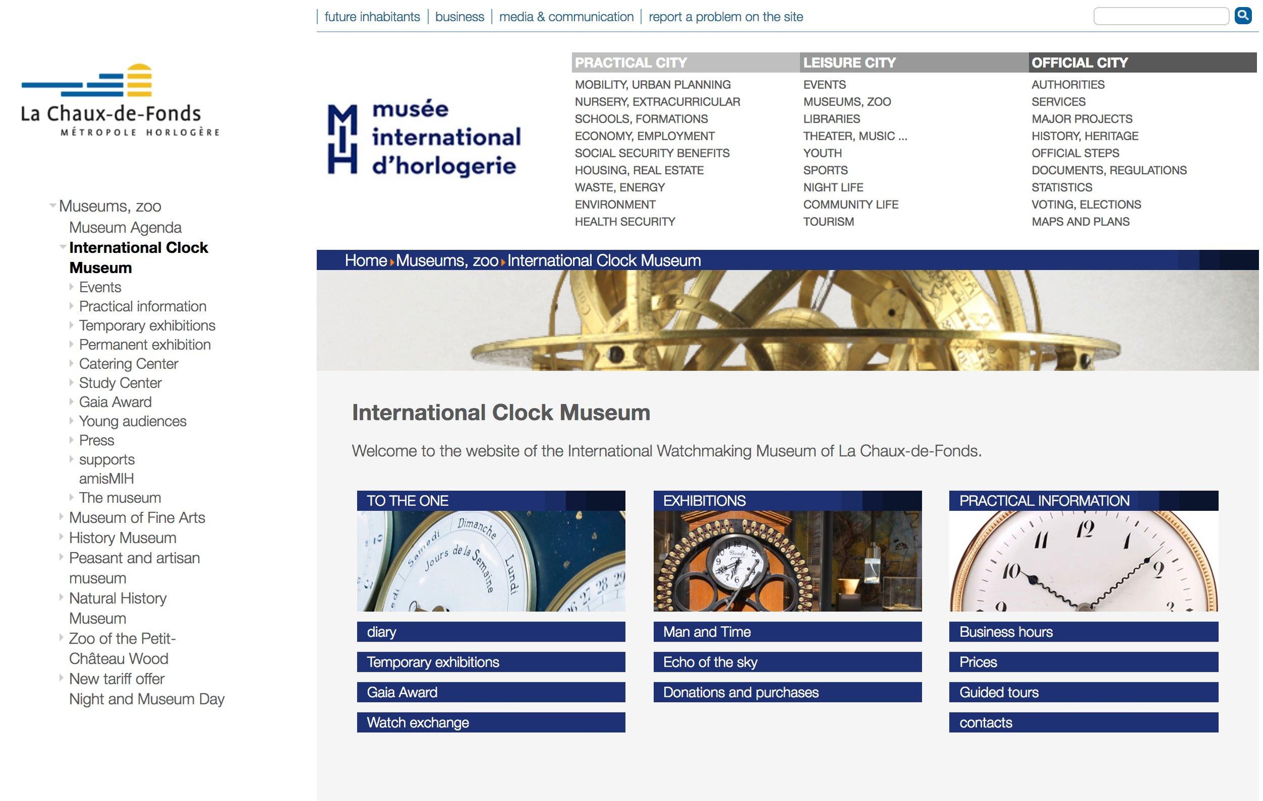 International Museum of Horology (Chaux des Fonds)