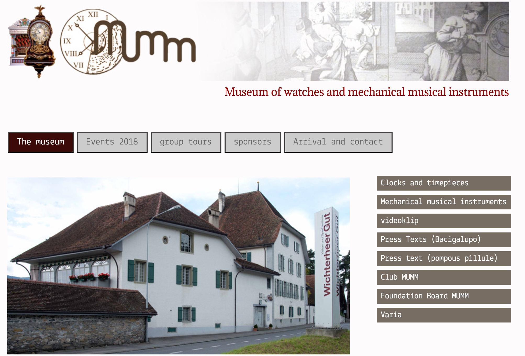Museum of Timepieces and Mechanical Music Instruments (Oberhofen)