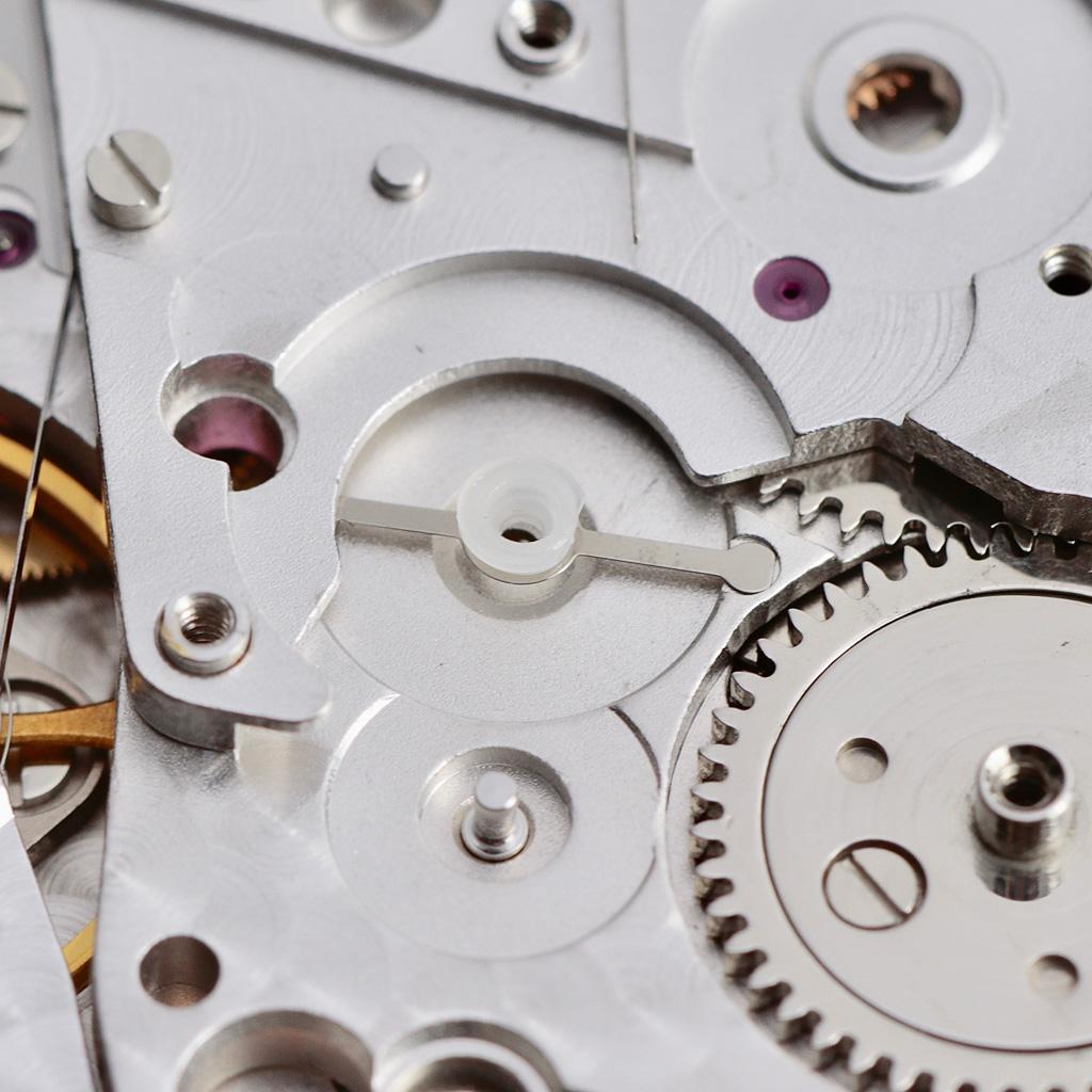 Chronograph wheel friction spring