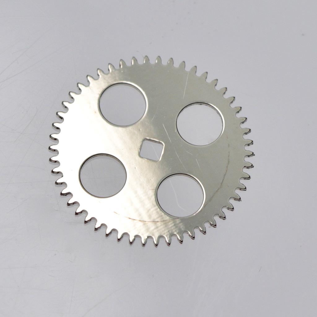 The steel ratchet wheel
