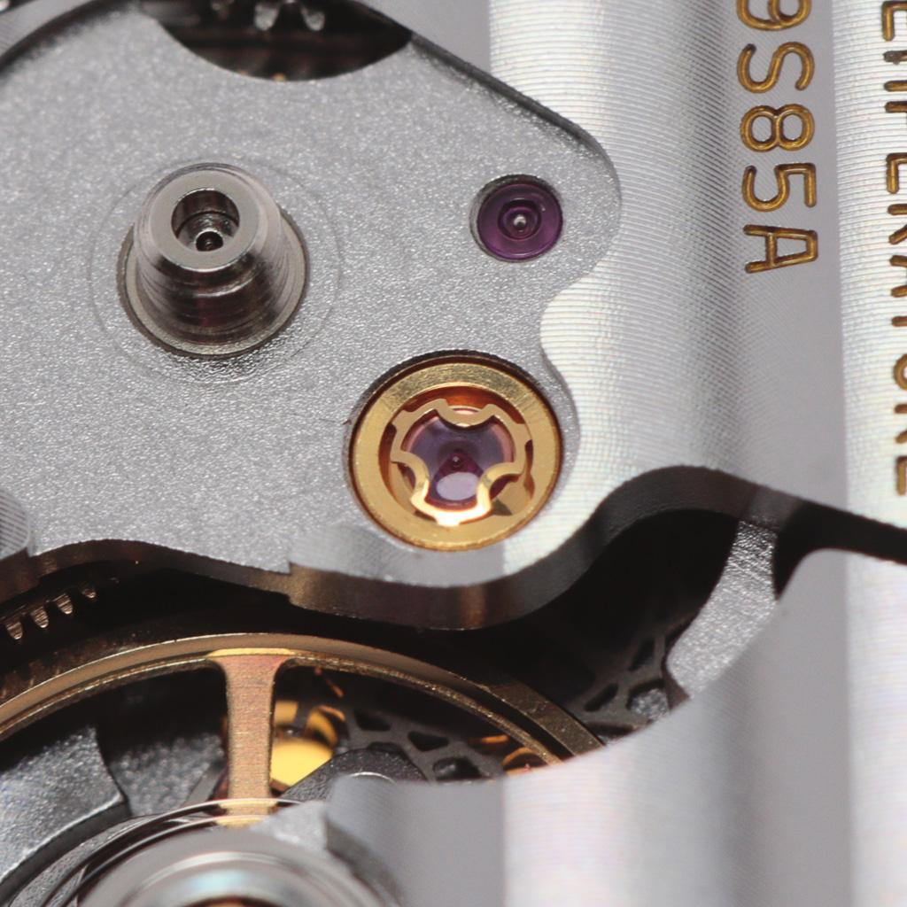 Escape wheel chaton assembly