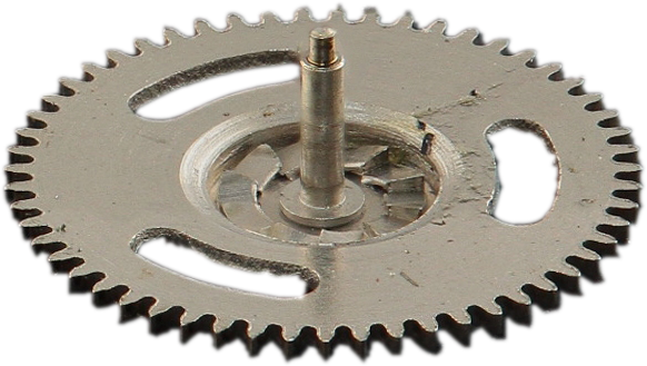 Lower winding clutch pinion