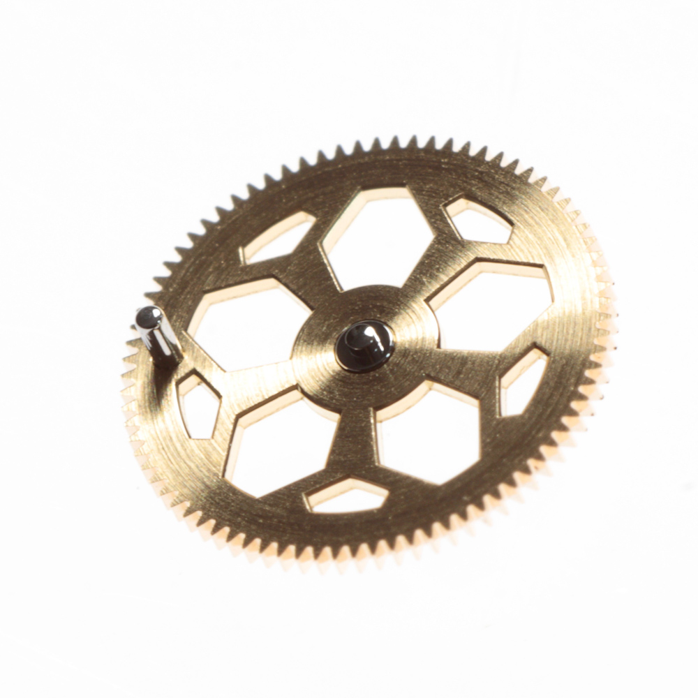 Drive wheel for the 0-15 metre indication