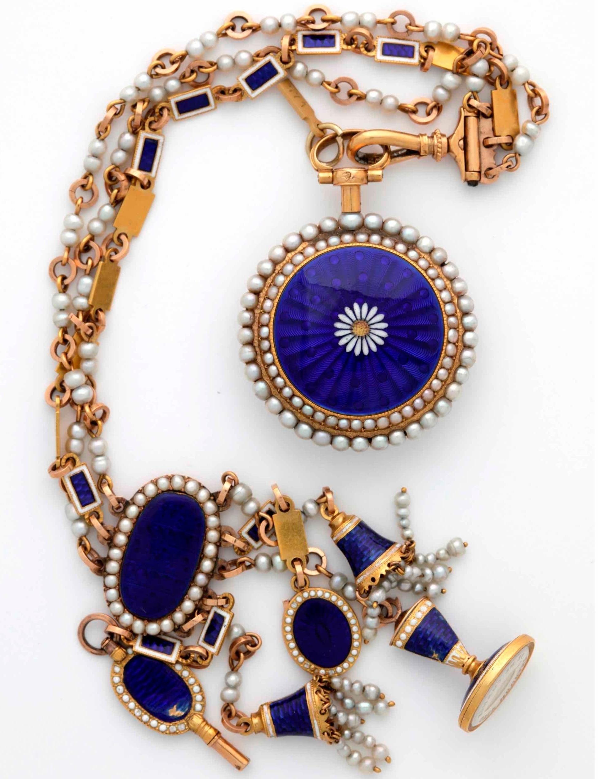Pocket watch ©  Musée international d'horlogerie de La Chaux-de-Fonds.