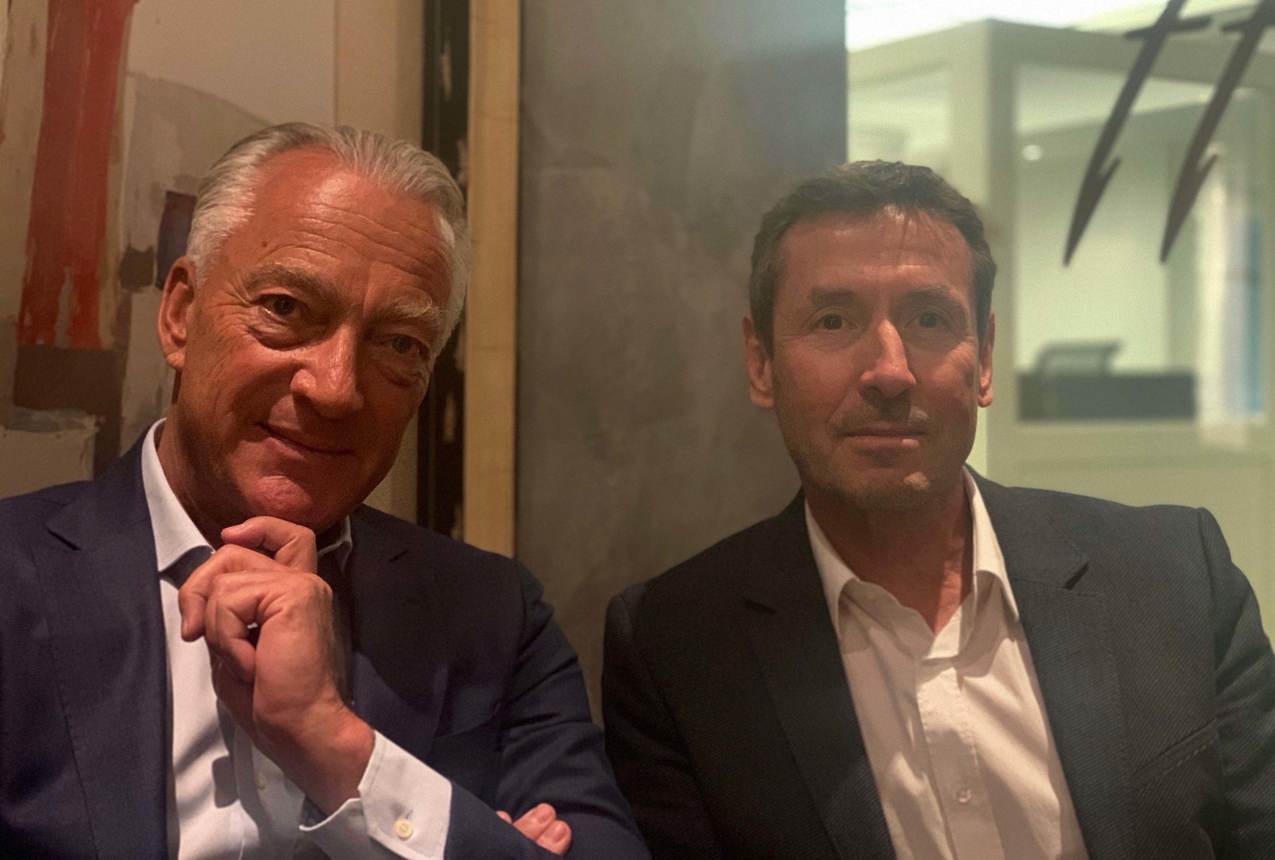 The two primary individuals behind the company are Pierre-Antoine Racine CEO (left), and Pierre Bourquin, head of the legal department (right).