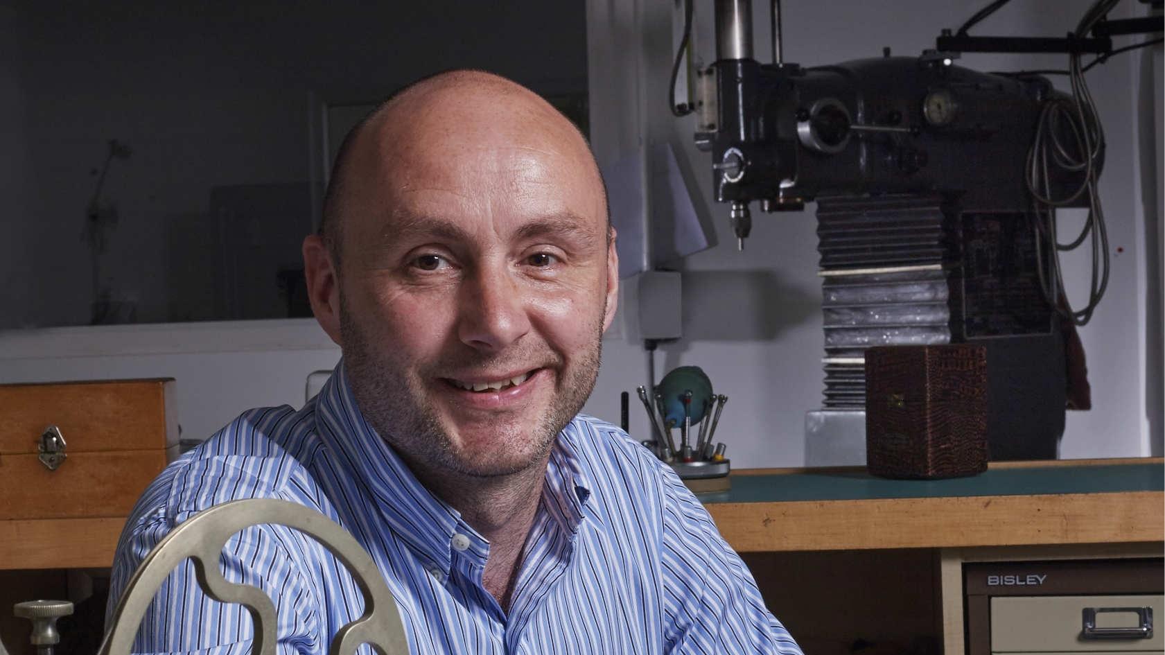 David Brailsford (Founder Garrick)