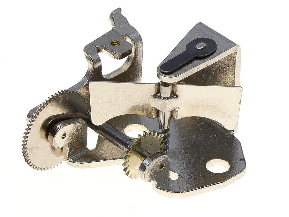 The assembled air brake.