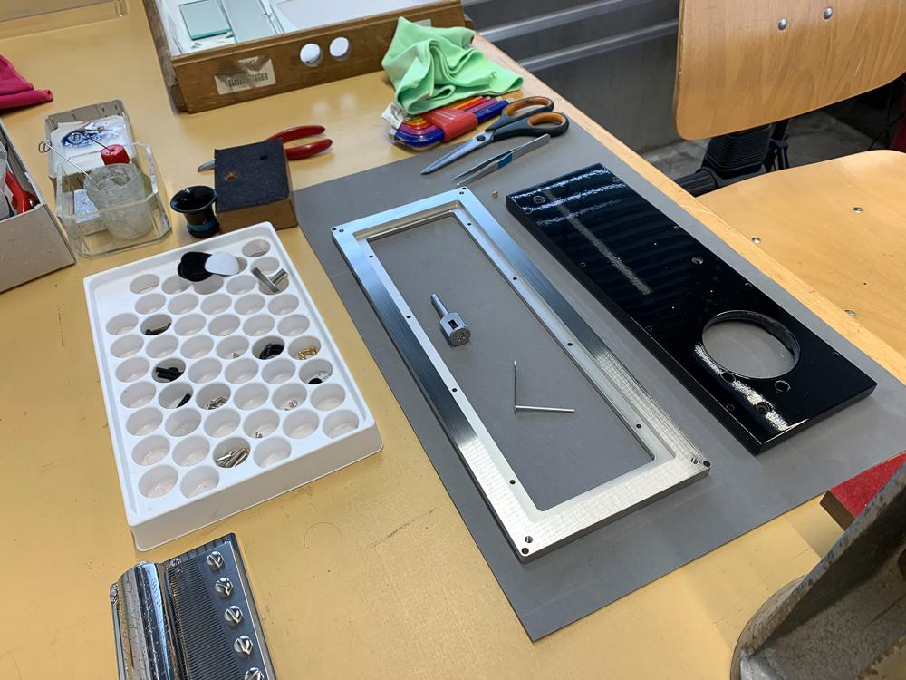 Preparing components