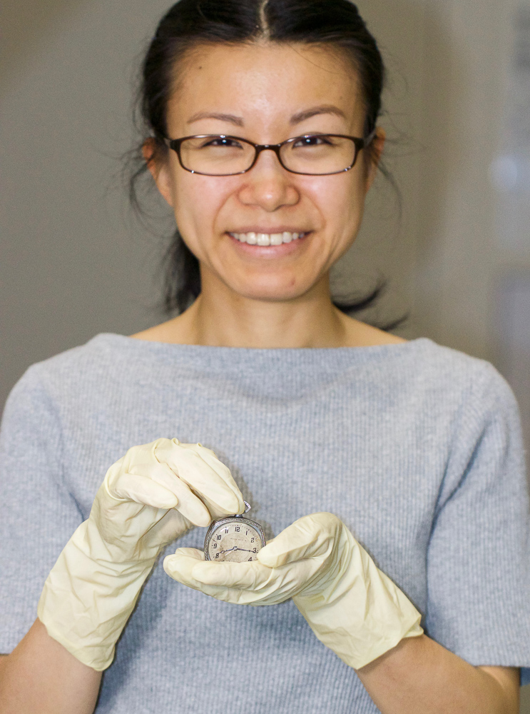 Yukimi Dohi museum curator