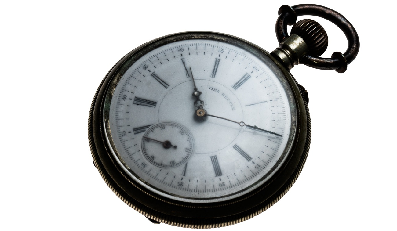 """In 1895 Kintaro made his first pocket watch, the """"Timekeeper""""."""