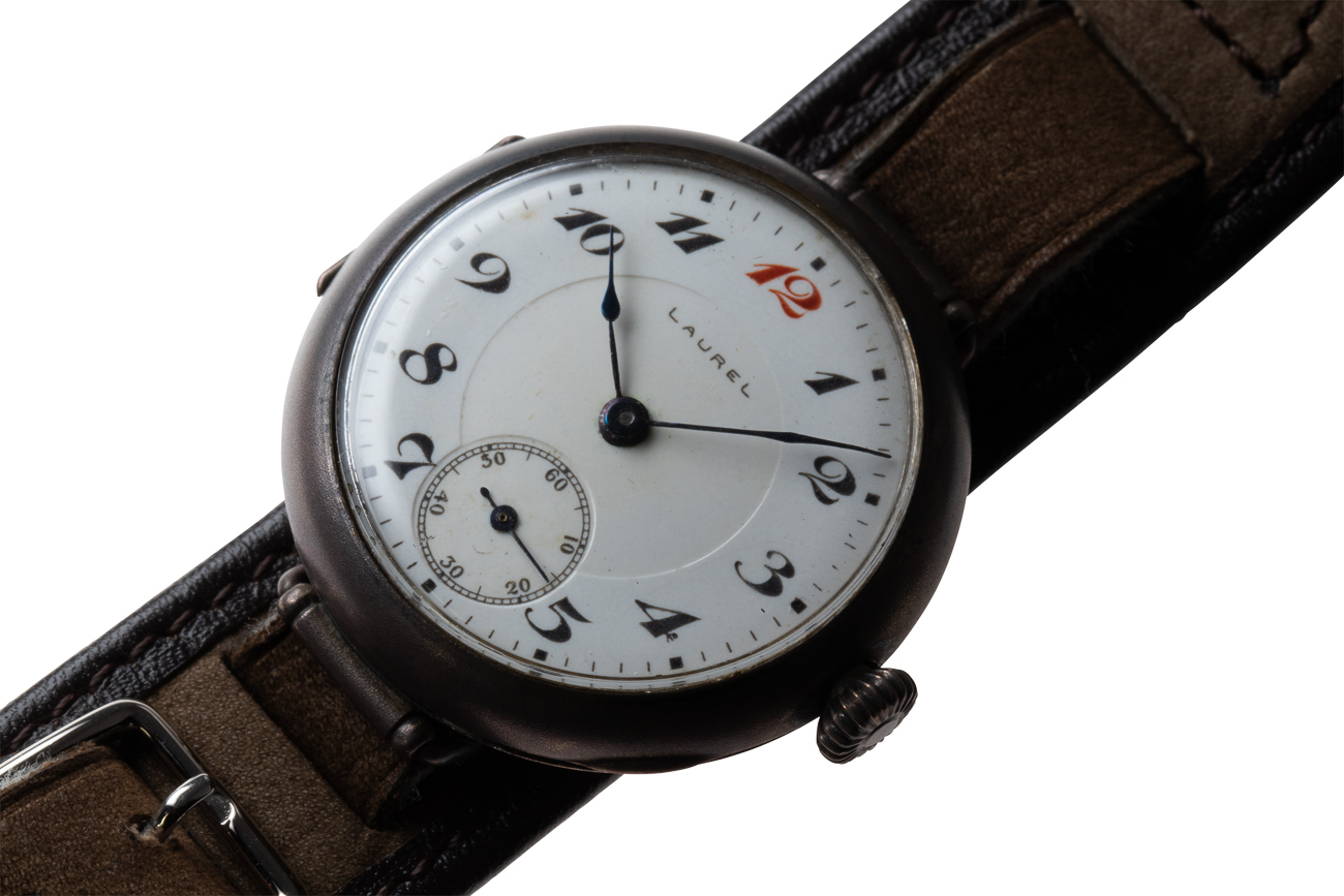 """In 1913 the """"Laurel"""" was the first wristwatch to made in Japan. In the early days, the company was able to produce between 30 to 50 watches a day."""
