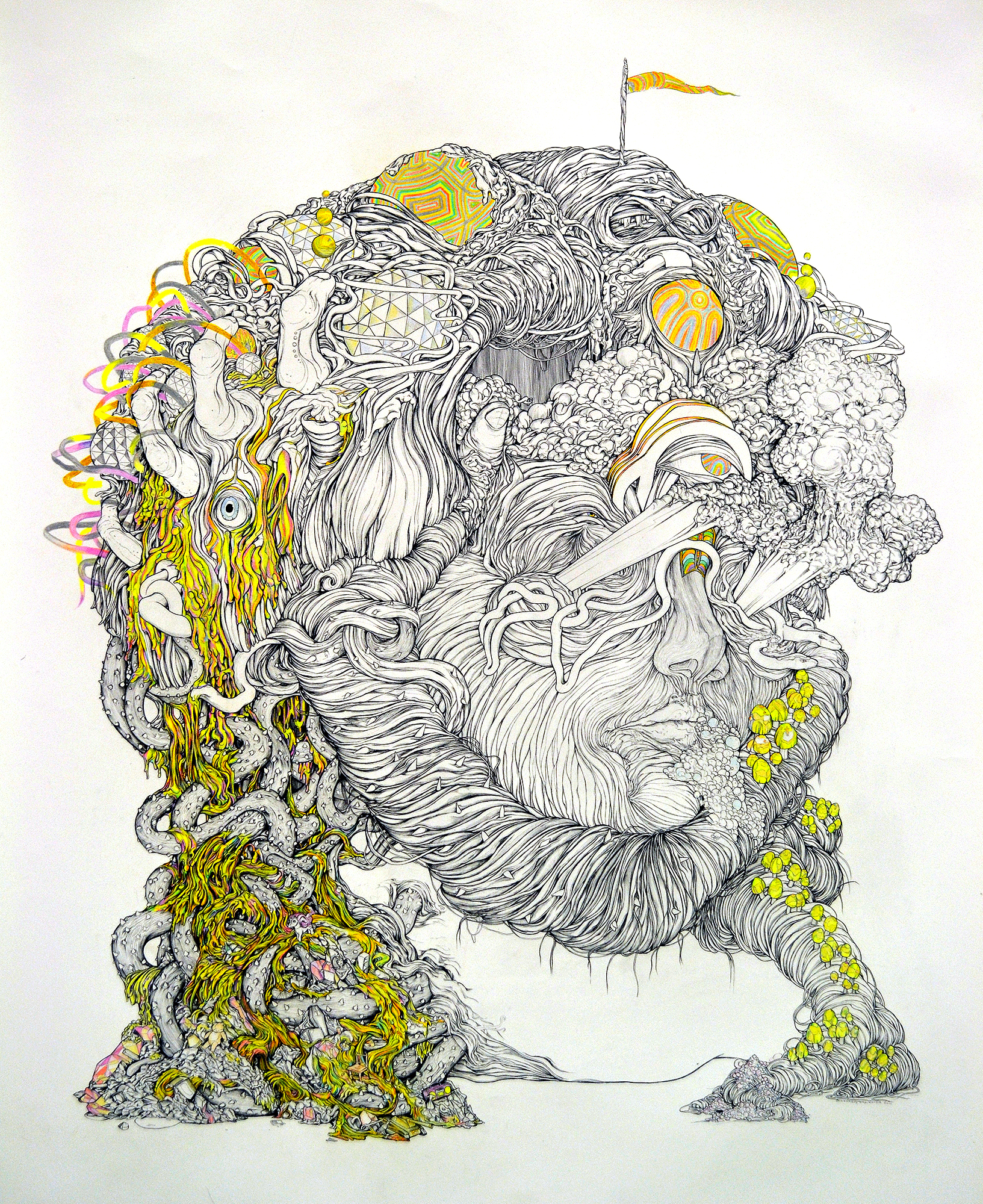 FTW 4ft x 5ft pen and pencil crayon on paper.jpg