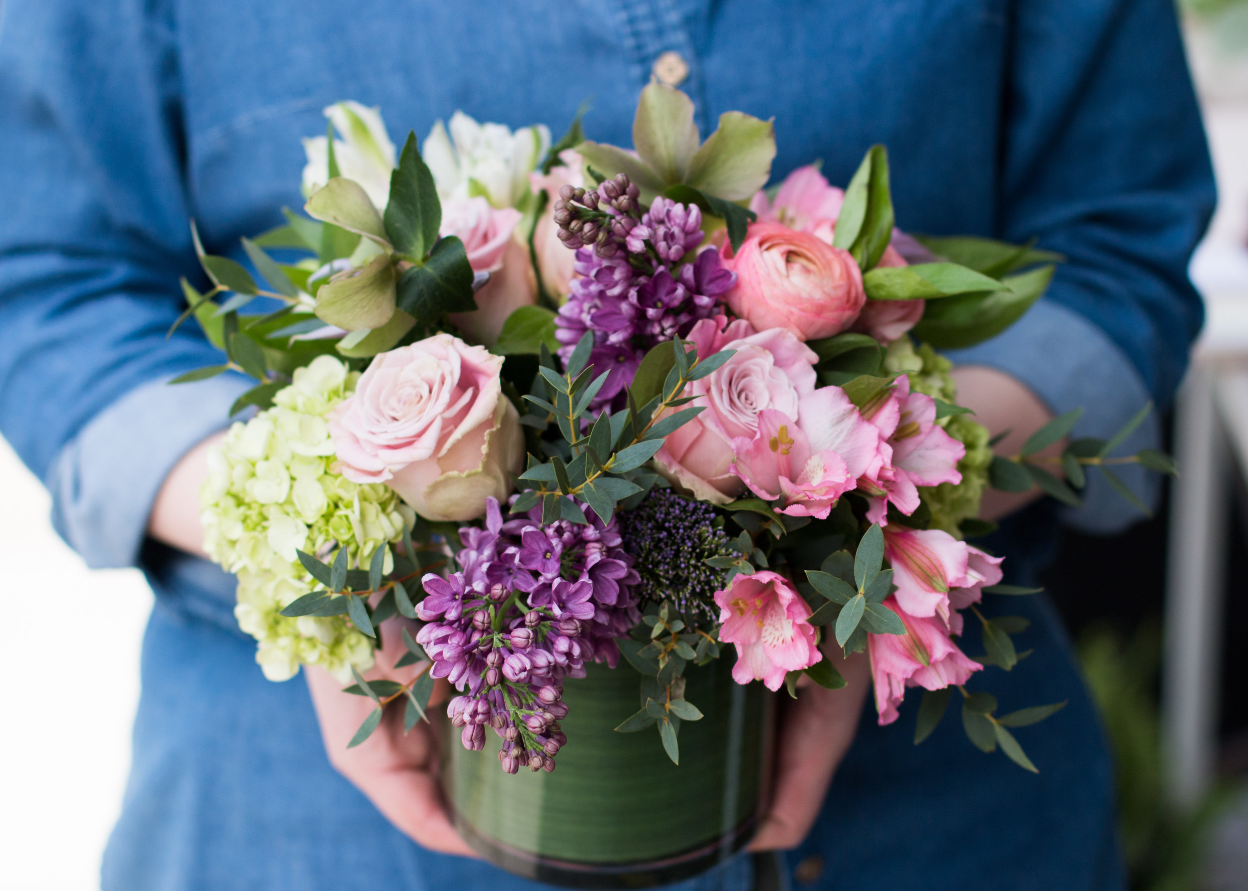 Fresh flowers for the ultimate gift everyone loves. Mention this post to receive a complimentary  $10  upgrade to your custom fresh flower orders for easter weekend.