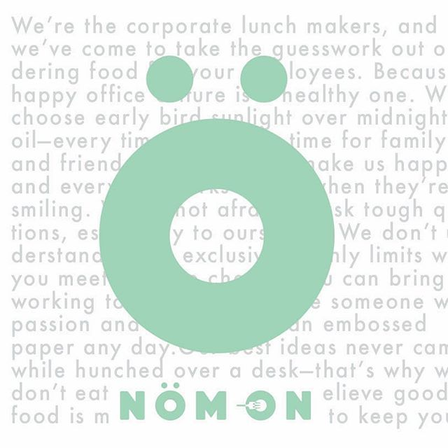 Sorry we haven't posted much lately. It's because we've been busy👌 Website coming soon! | #makelunchwork #getnomon #nöm #healthy #lunch #snacks #officelunch #office #officeculture #comingsoon