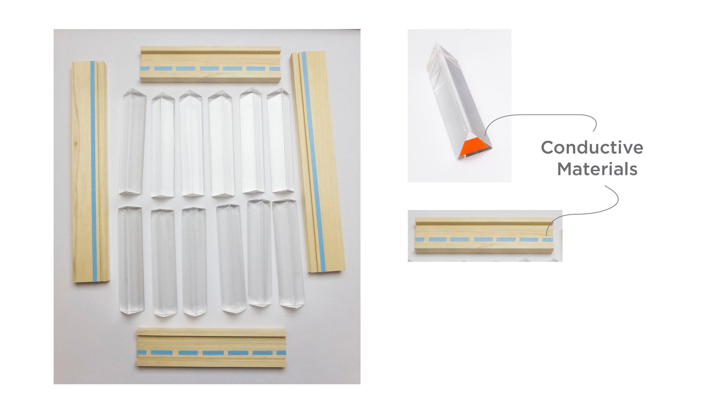 Prototype of 'Rainbow Church' Kit Components