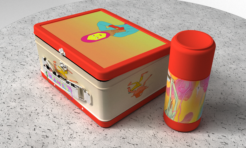 Manly Lunchbox