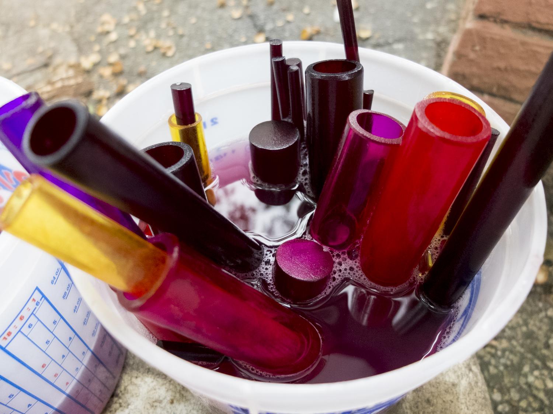 Hand-Dyed Acrylic