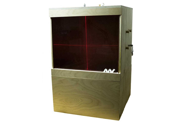 Laser + Fog Drawing Machine