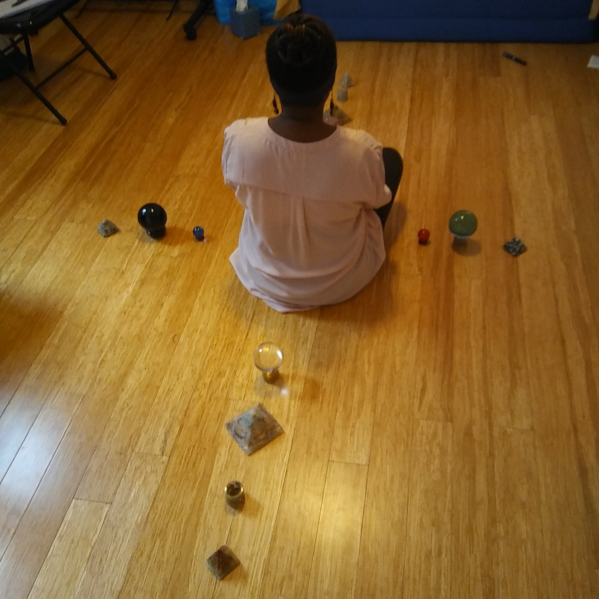 An energy healing experience at In Light Yoga and Health