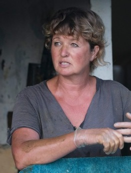 """My goal is to keep on milking cows until I am an old old lady and then hopefully have enough money to buy a little house near the sea."""""""