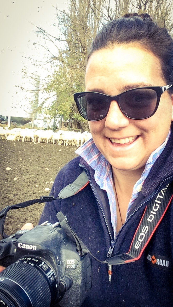 """""""I do it because I love it. There's a passion for it, the farming, the photography, the animals and the fresh air!"""""""