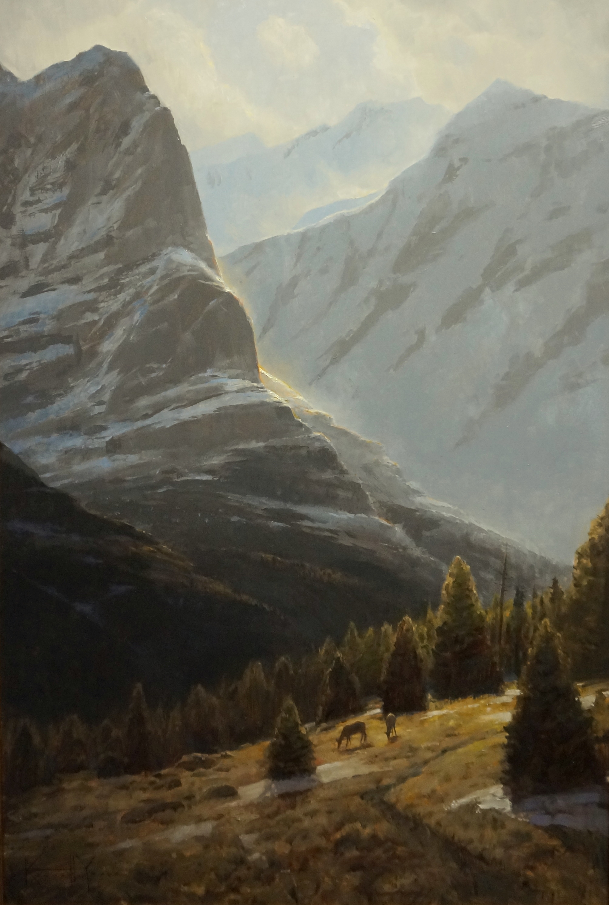 Precious Pasture - 36x24 - oil - Sold