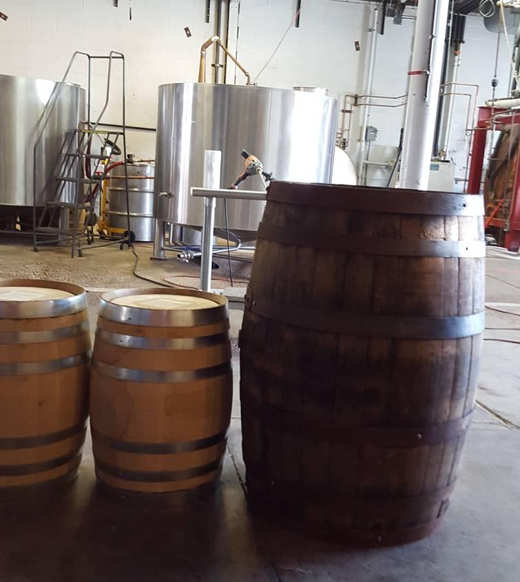 10-gallon barrels and 55-gallon barrel