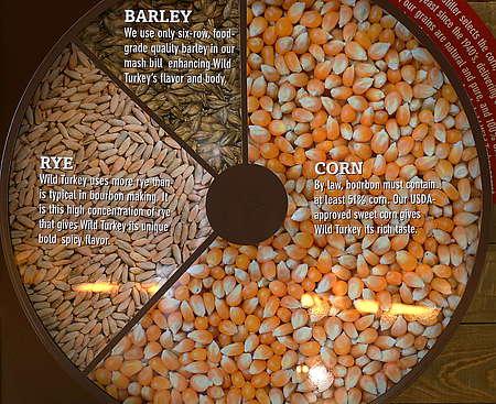 Bourbon Grain Samples