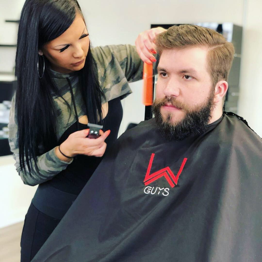 Best Mens hair and razor shave. Mens haircuts Downtown Royal Oak W Barber Spa & Salon Men's Beard Grooming
