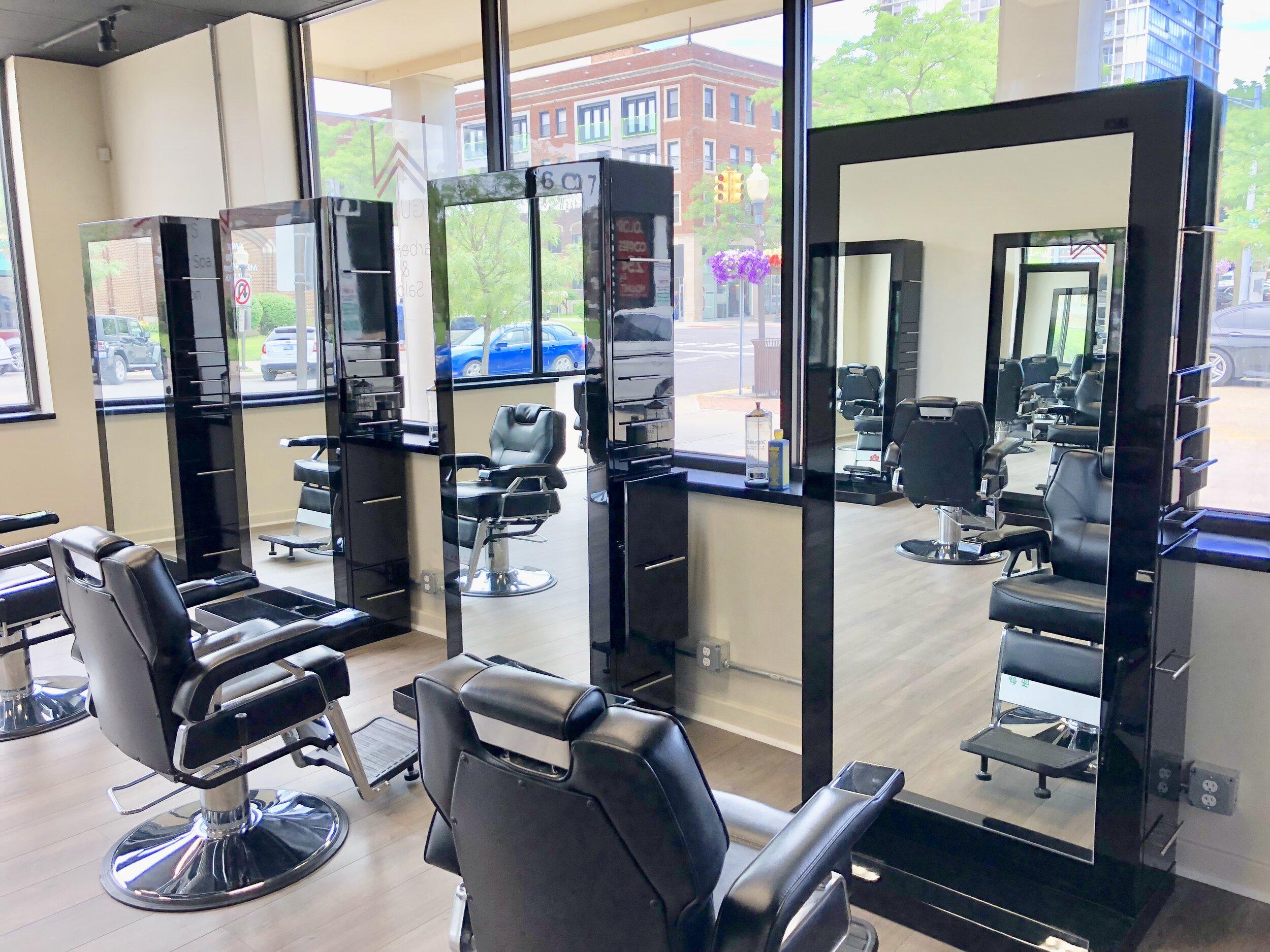 Upscale men's Salon W Barber Spa & Salon