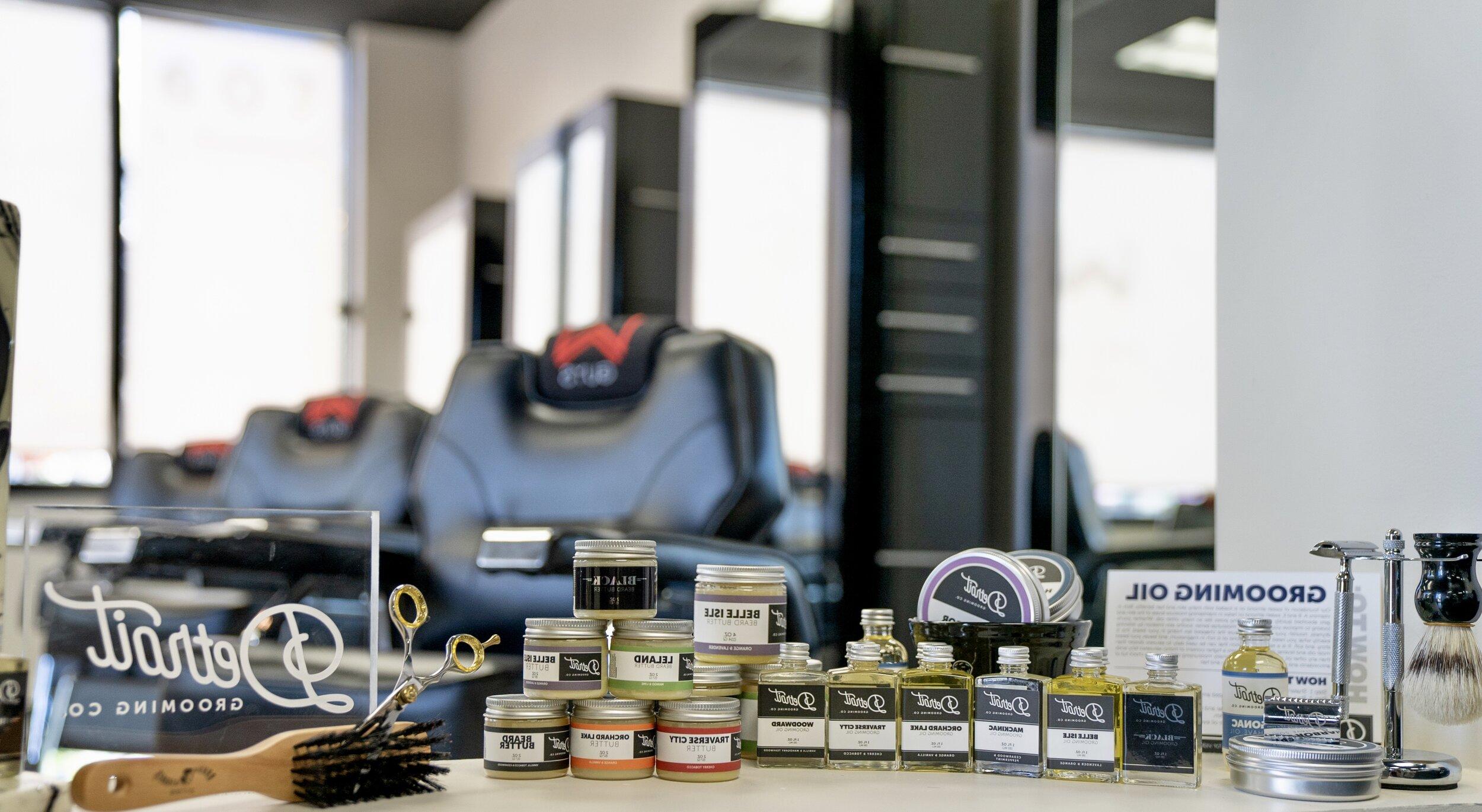 Men's Hair Salon with Barbering W Barber Spa & Salon Royal Oak