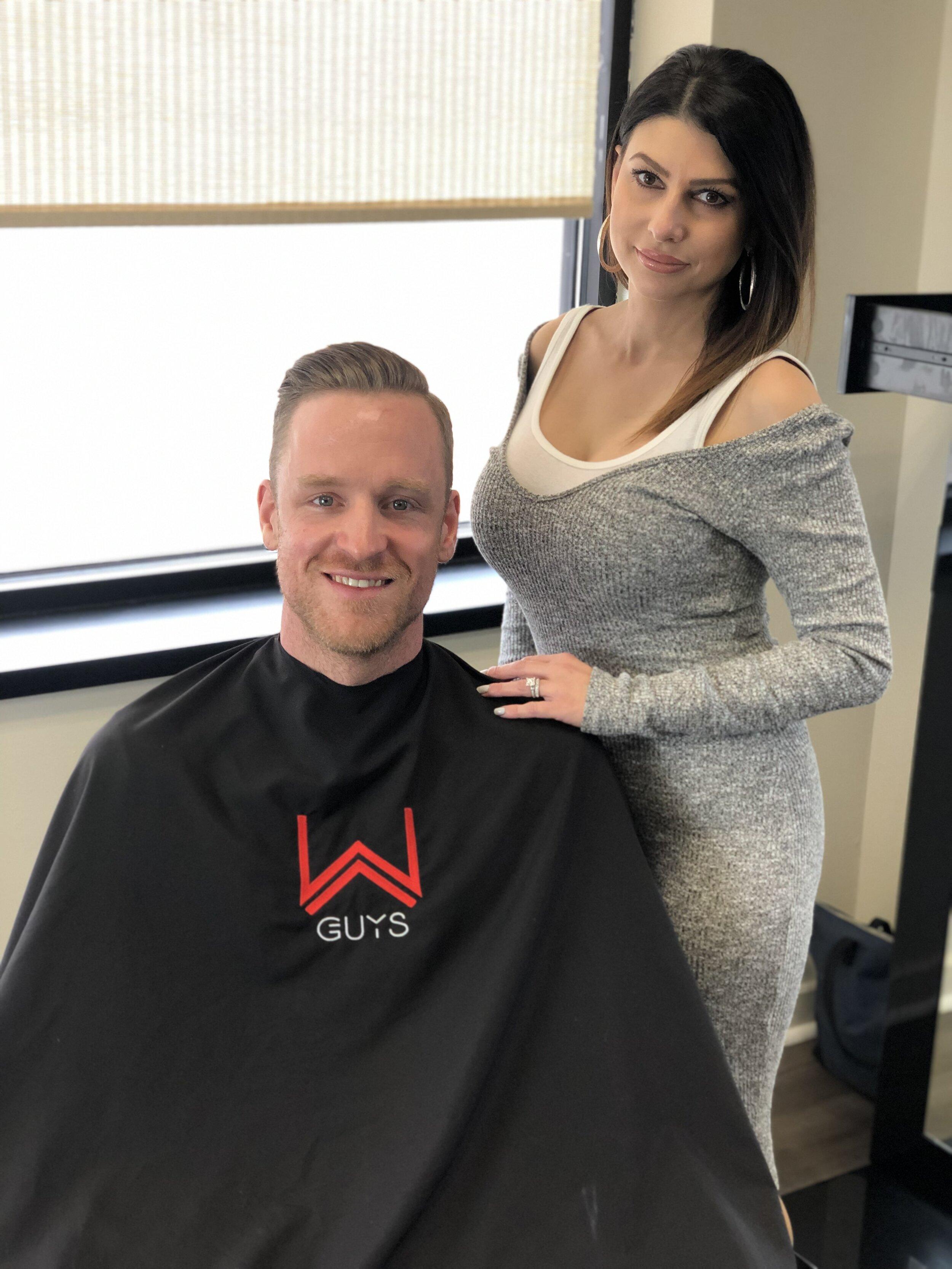 Men's Hair Salon, Barber Inspired, W Barber Spa & Salon. Modern Mens Salon - Barbershop Grooming