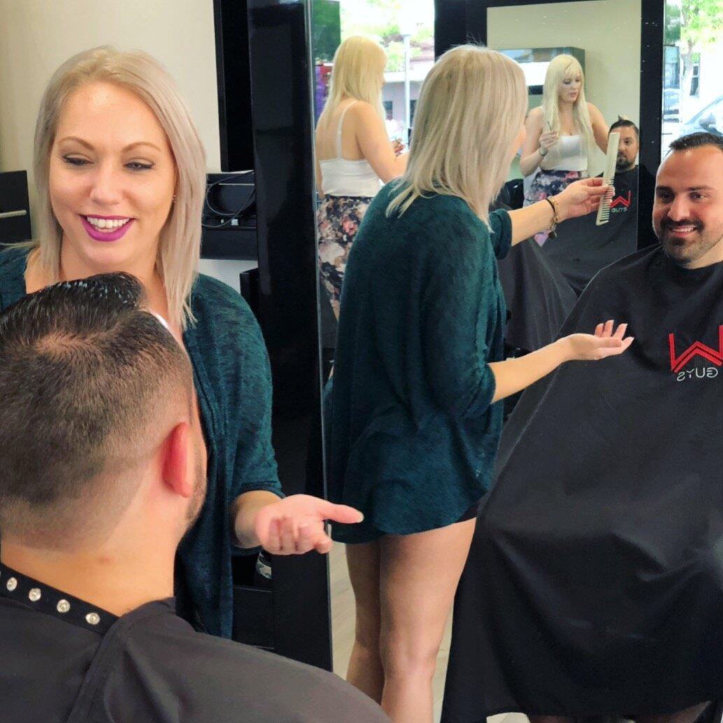 Men's Barbering In A Modern Men's Salon W Barber Salon
