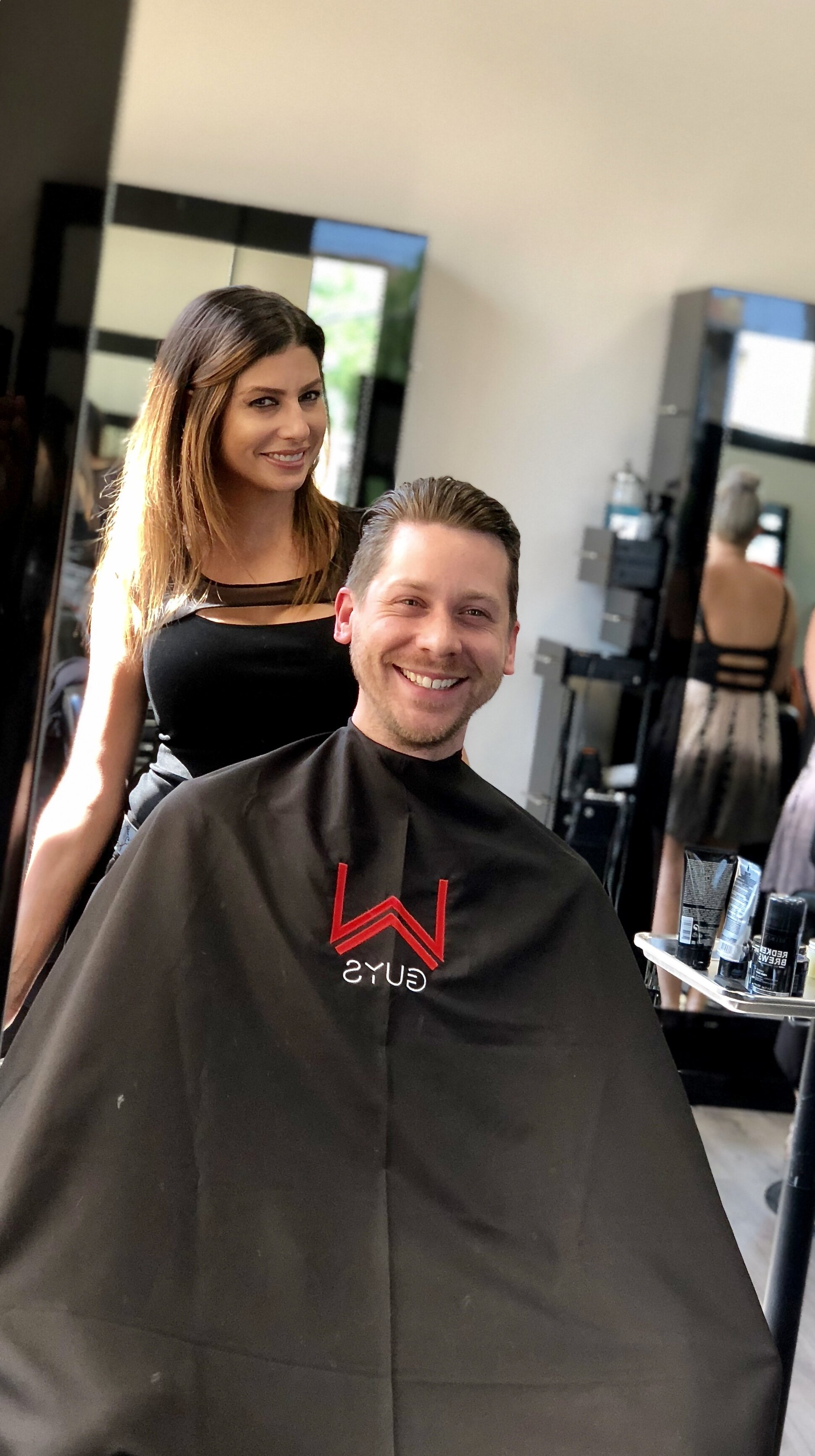 Offers men an indulgent grooming experience.  elevated version of the classic barbershop maintenance. W Barber Spa & Salon Royal Oak