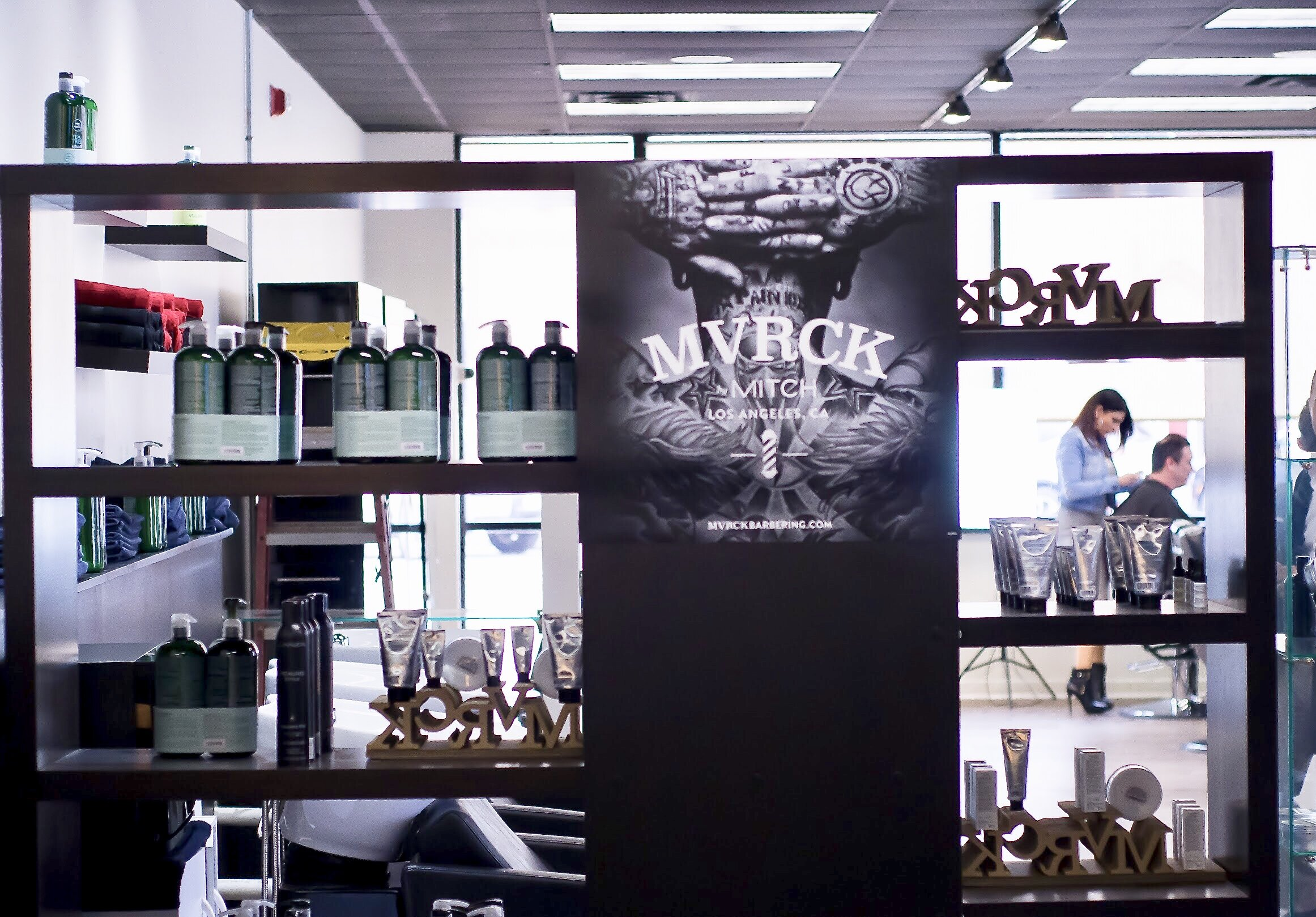 Upscale Men's Haircut Salon with Classic Barbering Service'sW Barber Spa & Salo Royal Oak