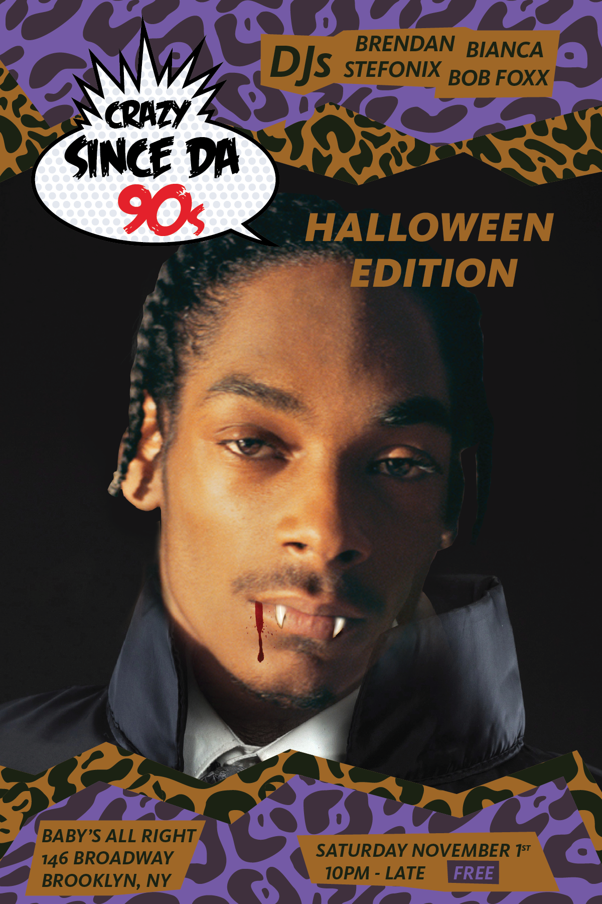 Crazy Since the 90s - Halloween 14 - Flyer.png