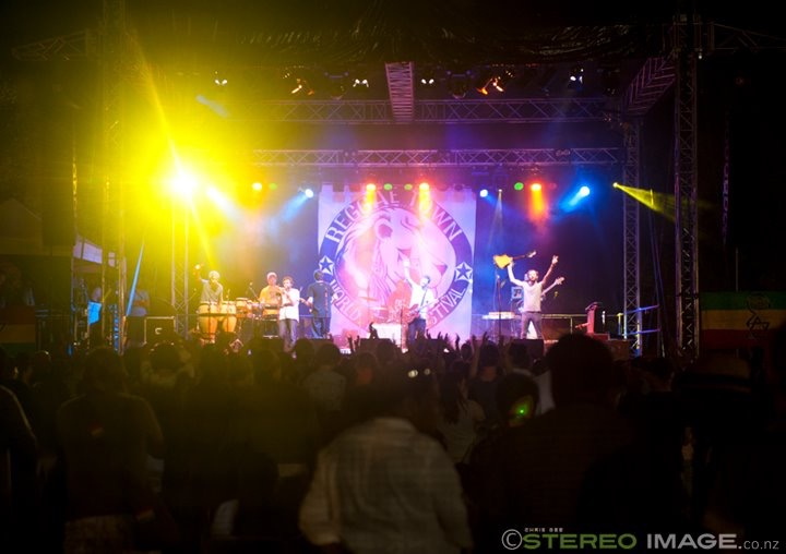The Black Seeds, Cairns, 2011