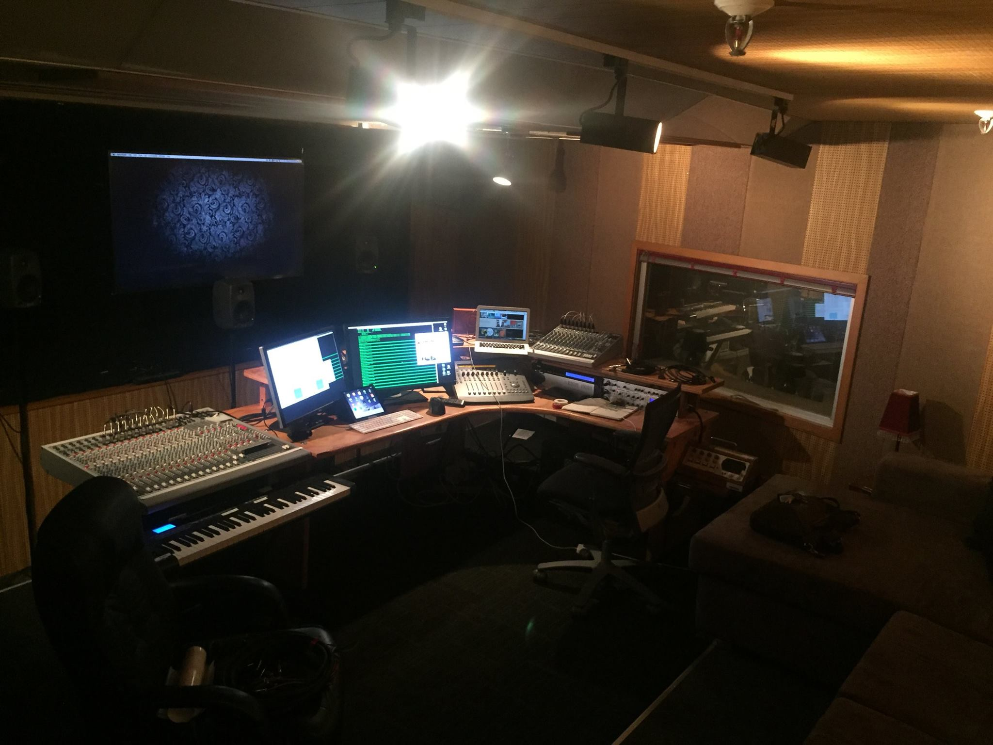 New mission control, Avalon Film and TV Studios, Lower Hutt. 2016