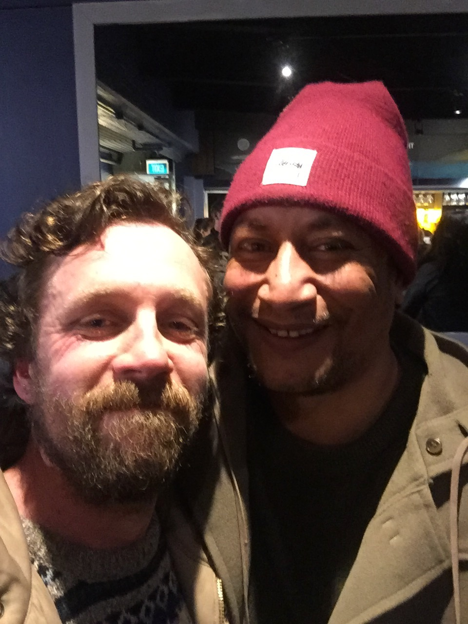 Scribe and me. Wellington, 2016