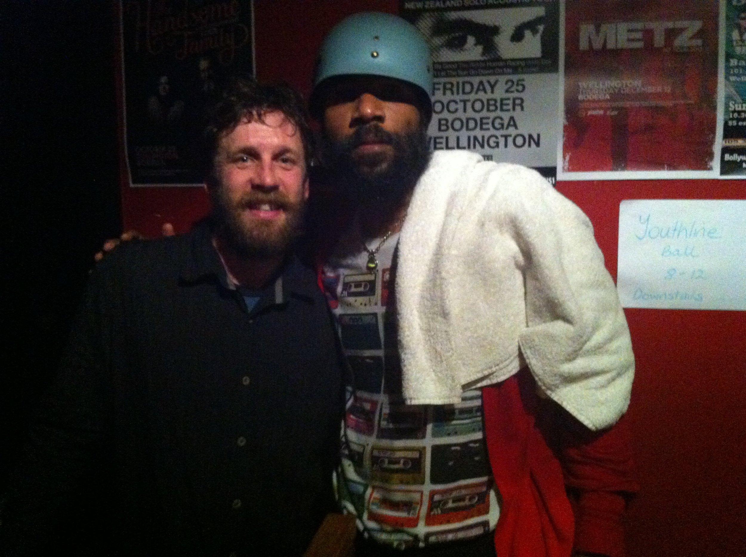 Cody and me. Wellington 2013