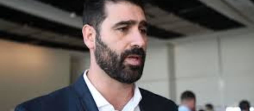 Styli Charalambous. Possibly the most handsome man in South African media today.