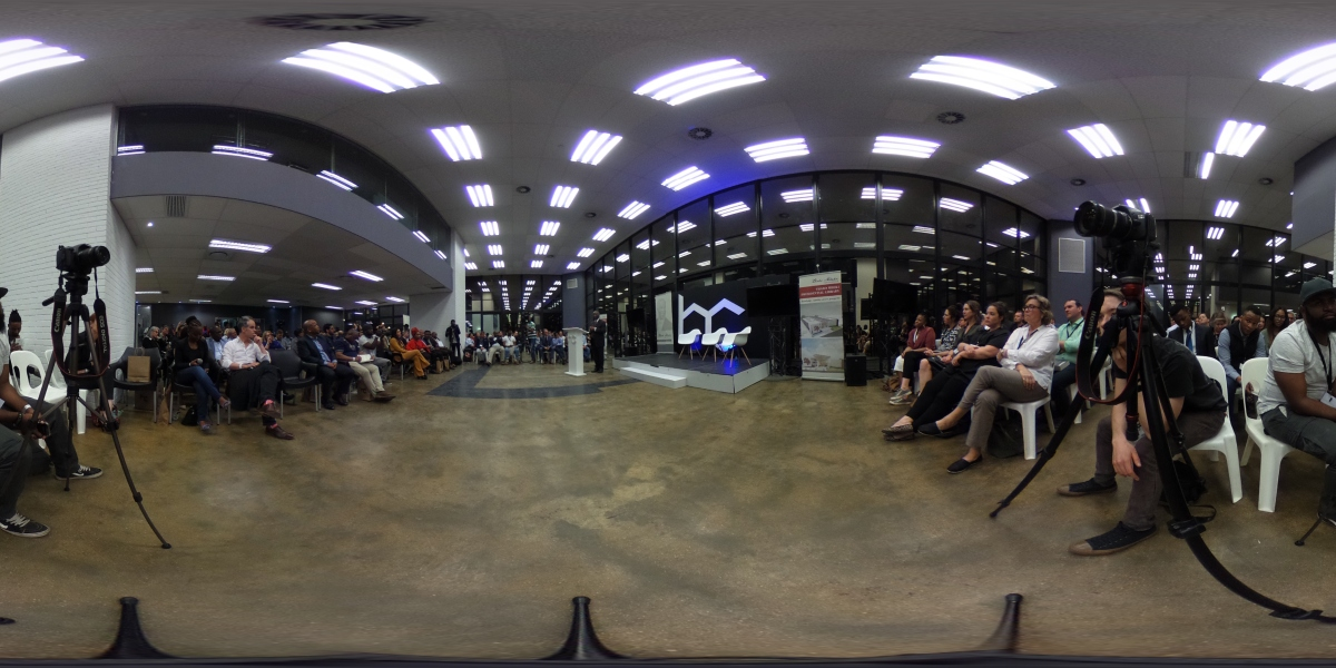 Justin's 360° pic at Heavy Chef's September 14th event