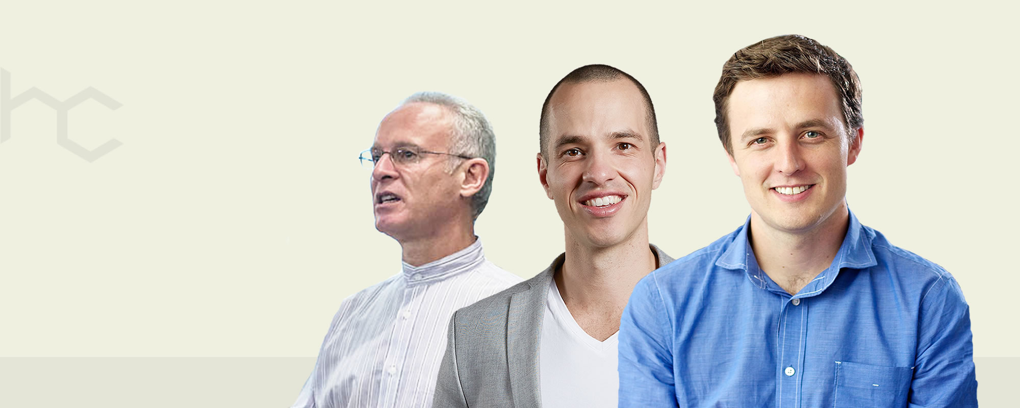 Appearing on Heavy Chef stage, November 1st, in Cape Town: Arthur Goldstuck (CEO World Wide Worx), Brad Elliott (CEO of Platinum Seed) and Andrew Smith (CEO of Yuppiechef).