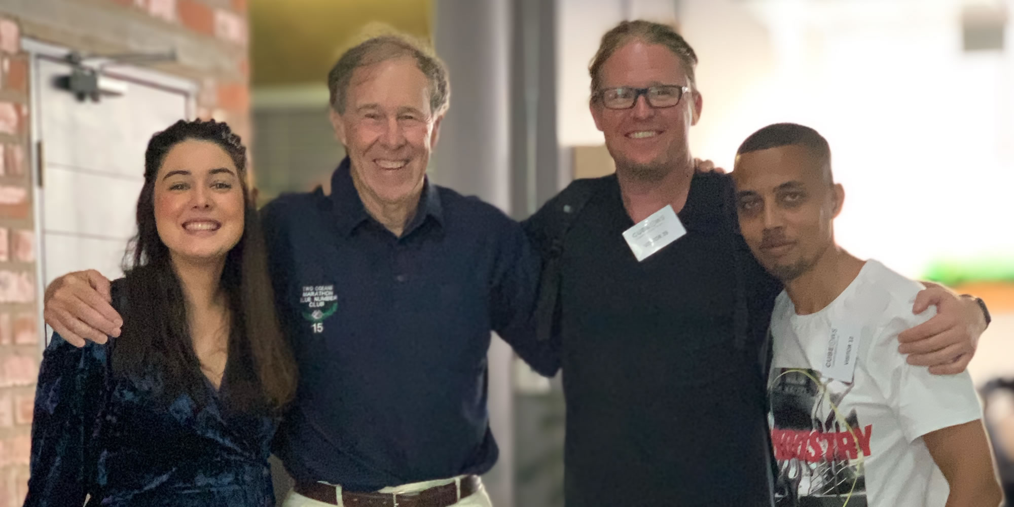 Caley Africa (Heavy Chef), Prof Noakes, Fred Roed (CEO of Heavy Chef) and Randall Adams (Heavy Chef)