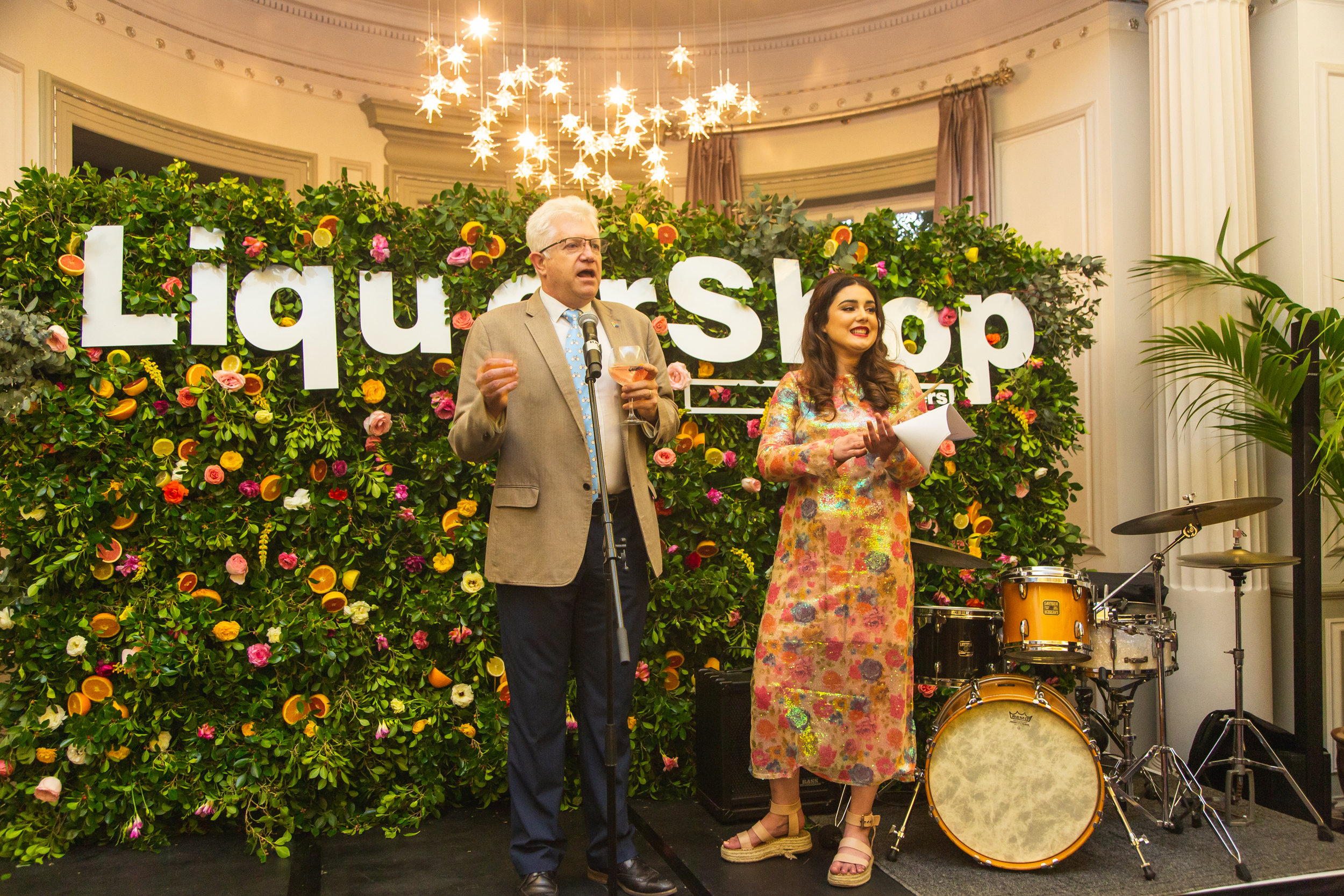 Co-hosting with the very warm, very fun Premier Alan Winde (Photo Credit: Tasmin Weir)