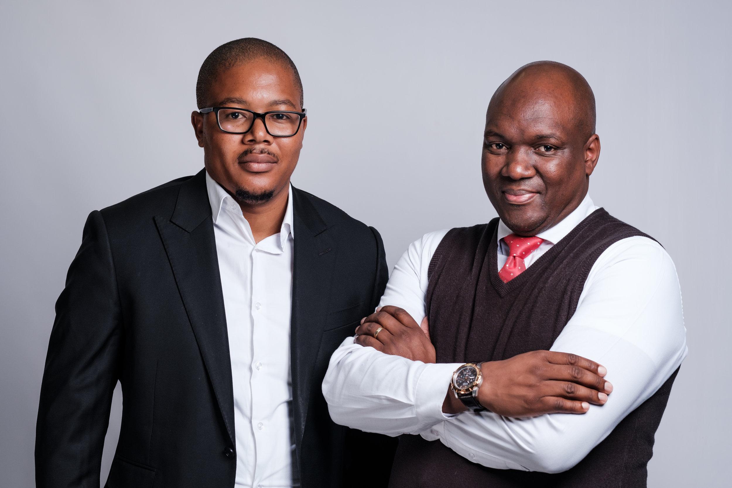 Startup Magic: Founders of Zande Africa Siya Ntutela (CEO) and Mdu Thabethe (COO)
