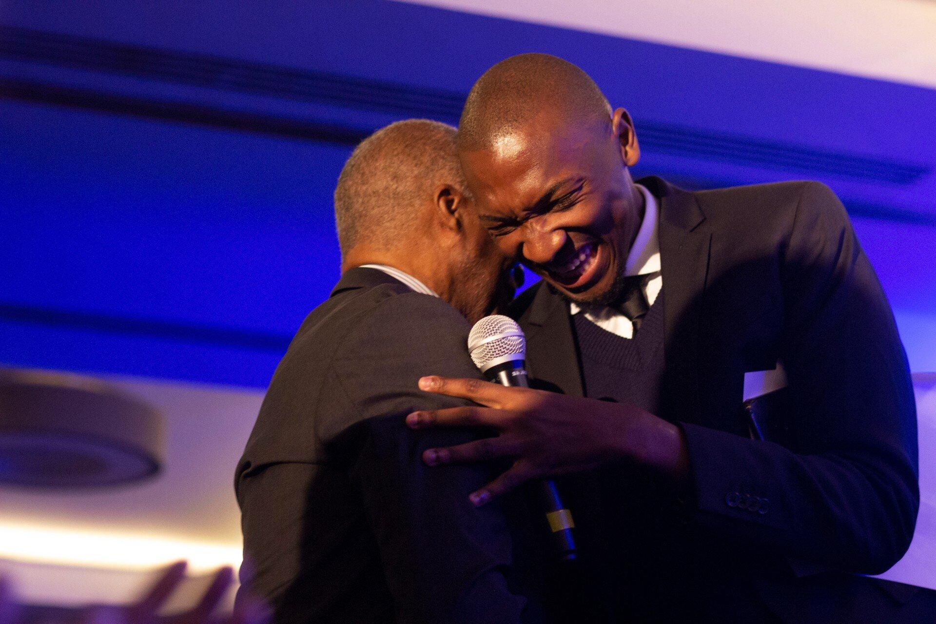 Lukhanyo Neer and former president Thabo Mbeki